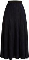 Sonia Rykiel High-rise ribbed-knit midi skirt