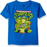 Nickelodeon Little Boys' Toddler Teenage Mutant Ninja Turtles Group T-Shirt