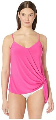 Magicsuit Solid Alex Tankini (Rose) Women's Swimwear