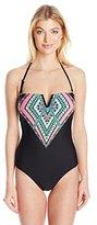 Jessica Simpson Women's Venice Beach One Piece Swimsuit