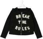 Diesel slogan print hoodie - kids - Cotton - 10 yrs