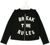 Diesel slogan print hoodie - kids - Cotton - 8 yrs