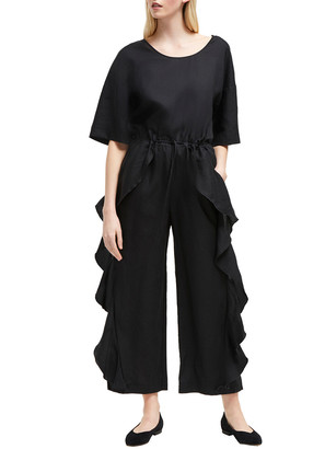 French Connection Dae Linen-Blend Jumpsuit