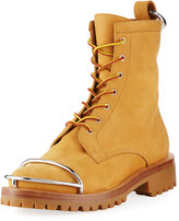 Alexander Wang Lyndon Lace-Up Nubuck Boot