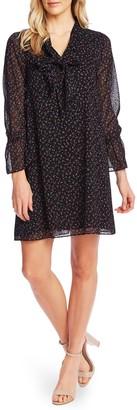 Cece By Cynthia Steffe Wisttful Blooms Long Sleeve Dress