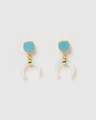 Miz Casa And Co Lucky Charm Earrings