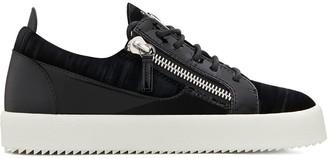 Giuseppe Zanotti Gail panelled sneakers