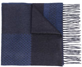 Canali fringed intarsia scarf - men - Silk/Cashmere - One Size