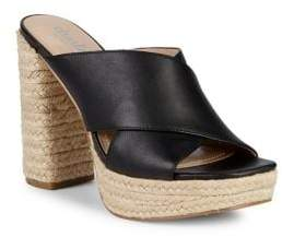 Charles by Charles David Index Faux Leather Espadrilles