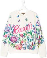 Roberto Cavalli printed sweatshirt