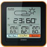 Oregon Scientific RAR505 Multi-Zone Weather Station - Measure Temperature & Humidity in 4 Locations