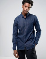 Dr Denim Mick Regular Fit Denim Shirt