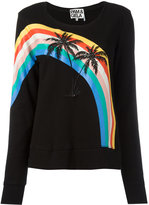 Pam & Gela palm trees sweatshirt - women - Cotton - M