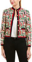 Gucci Silk & Wool-Blend Jacket