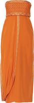 Missoni Layered silk-blend midi dress