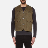 Nigel Cabourn Hybrid Finish Harris Tweed Cameraman Converse Vest Jacket Army
