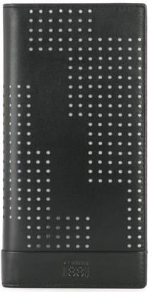 Cerruti Punch Hole Detailed Bifold Wallet