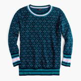 J.Crew Tippi sweater in festive Fair Isle
