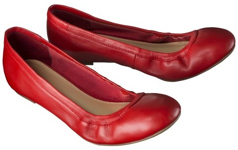 Merona Women's Emma Genuine Leather Flat