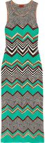 Missoni Crochet-knit Maxi Dress - Jade