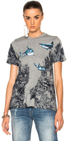 Stella McCartney Underwater T-Shirt in Abstract,Gray.