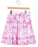 Oscar de la Renta Girls' Ikat Print Skirt