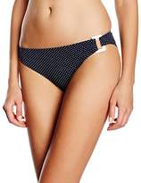 Marie Meili Women's Montauk Briefs Polka Dot Bikini Bottoms