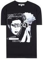 McQ by Alexander McQueen Printed Cotton-blend T-shirt
