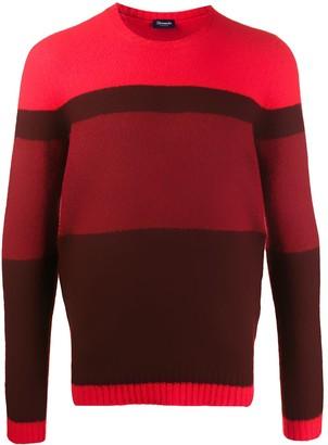Drumohr Striped Pattern Sweater