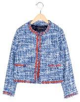 Oscar de la Renta Girls' Structured Tweed Jacket