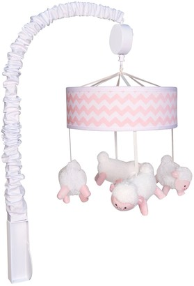 Trend Lab Pink Sky Lamb Musical Mobile
