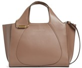 Victoria Beckham Small Newspaper Leather Tote - Brown