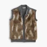 J.Crew Girls' faux-fur vest