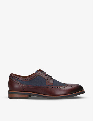 Aldo Kevin leather Derby shoes