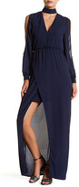 Lumier Cold Shoulder Maxi Dress