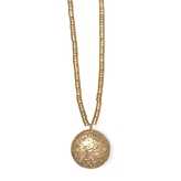 Low Luv x Erin Wasson Gold Lava Locket Necklace