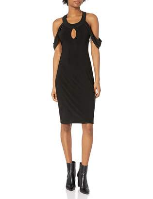 Star Vixen Women's Sleeveless Bodycon Open Back Little Dress