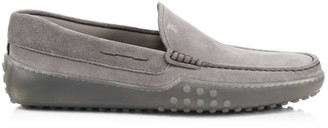 Tod's Suede Driving Loafers