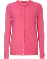 Dorothy Perkins Womens **Tall Fuchsia Cotton Cardigan- Pink
