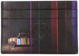 Paul Smith Mini-print Leather Card Holder