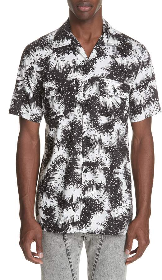 Givenchy Print Camp Shirt