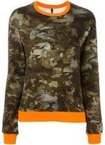 Versus camouflage sweatshirt - women - Cotton/Spandex/Elastane - XXS