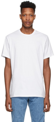 Calvin Klein Underwear Three-Pack White Cotton T-Shirt