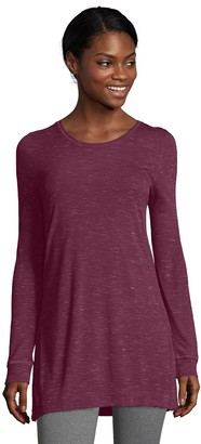 Hanes Women's Spacedye Vented Tunic
