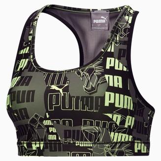 Puma 4Keeps Women's Graphic Mid Impact Bra