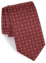 Salvatore Ferragamo Men's Gancini Woven Silk Tie