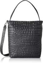 Liebeskind Berlin Women's Tribeca Croco Embossed Leather Hobo Hobo Bag