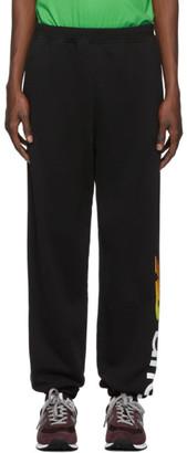 Aries Black New Balance Edition Logo Lounge Pants