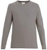 Oliver Spencer Bronte crew-neck striped cotton-knit sweater