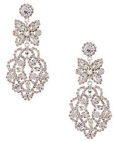 Cezanne Bow Lace Chandelier Earrings